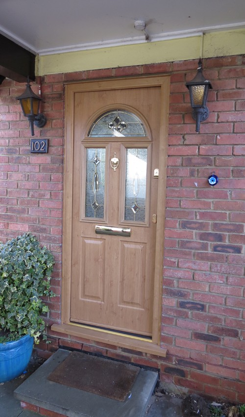 Choosing A Beautiful And Sturdy Residential Front Door