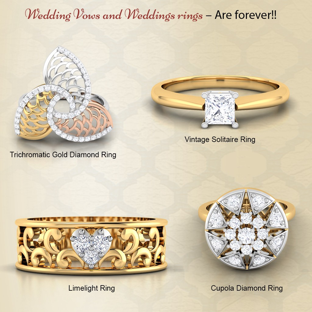 Lucky Thing Is With Diamonds One Can Hardly Ever Go Wrong; They Are  Statement Pieces Especially When Itu0027s A Wedding Ring.