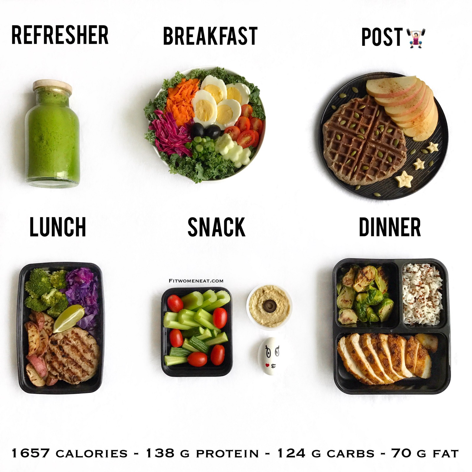 This is how my days usually look like. I workout 4–5 days a week and mostly  heavy lifting. I like eating salads for breakfast and having a nice  refresher ...