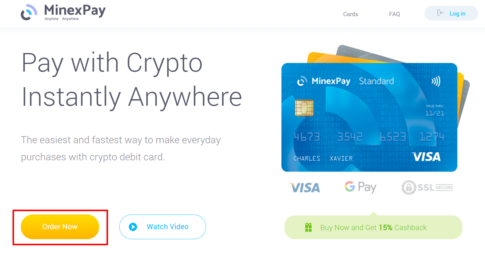 MinexPay Tutorial: How to Purchase the Card – Minexcoin | MinexPay ...