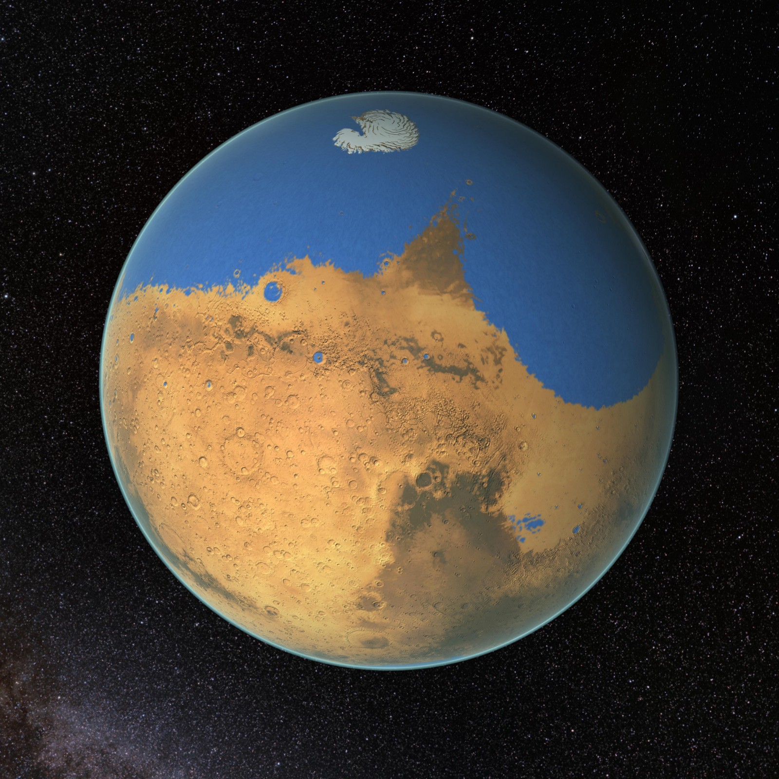 How Dust Storms Turned Mars into a Desert World