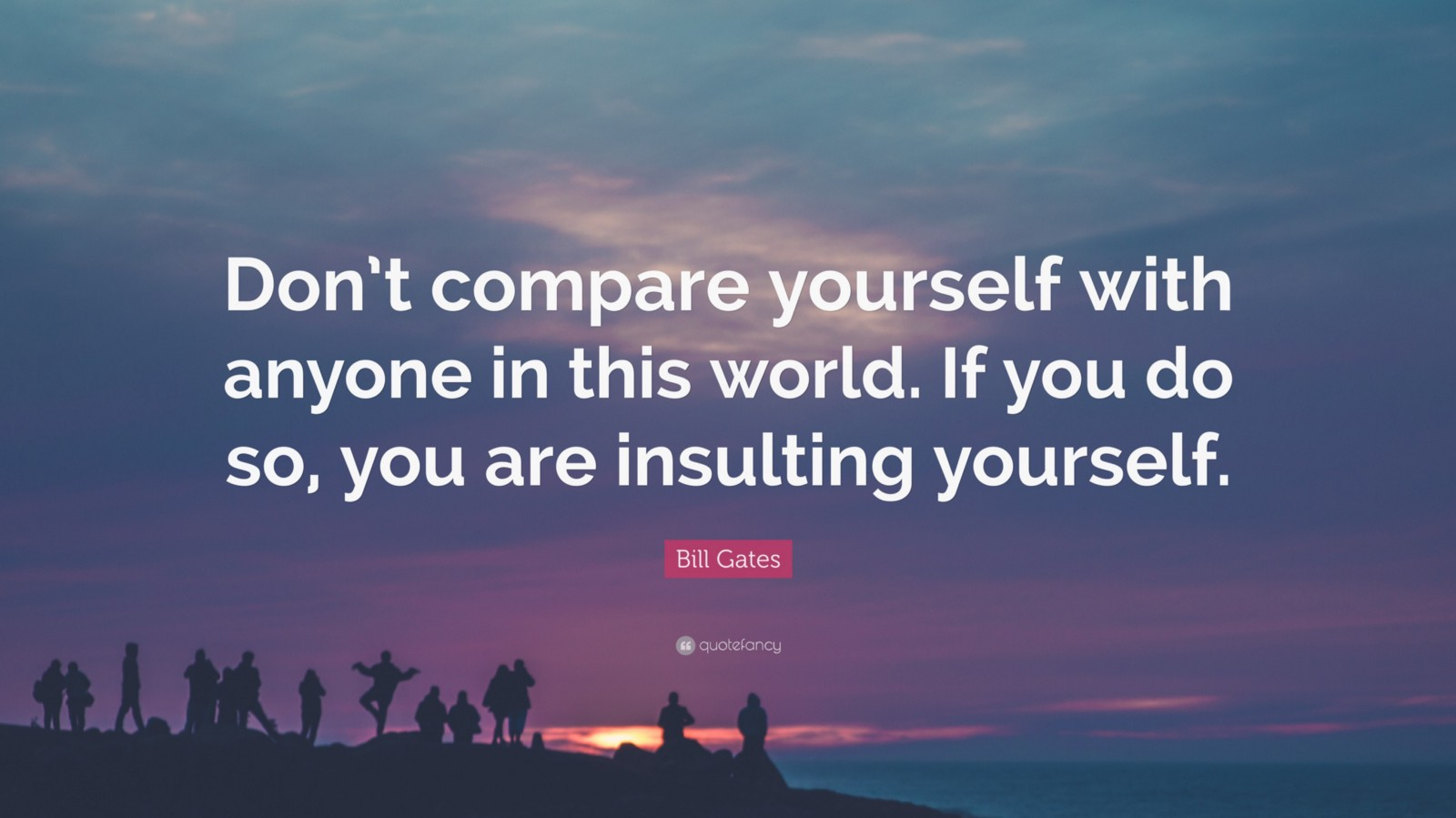 Never Compare Yourself To Others Quote 41169 Stop Comparing Yourself