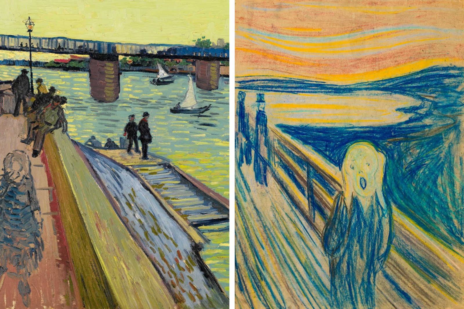 Munch: Van Gogh Exhibition, Amsterdam – Art Stories – Medium