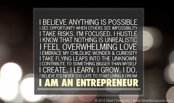 I Am An Entrepreneur What Does That Mean Maqtoob