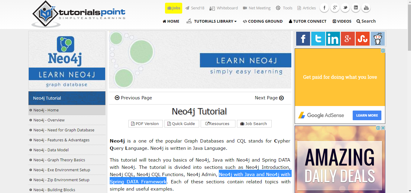 10 resources to learn neo4j paddy lock medium one of the simplest neo4j training tutorial which can help you get started using neo4j right on the bat however this course is limited to only learning baditri Gallery