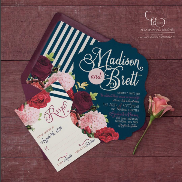 Top 4 hot wedding invitation trends for 2018 perfectly planned 4 instagram lddesigns stopboris