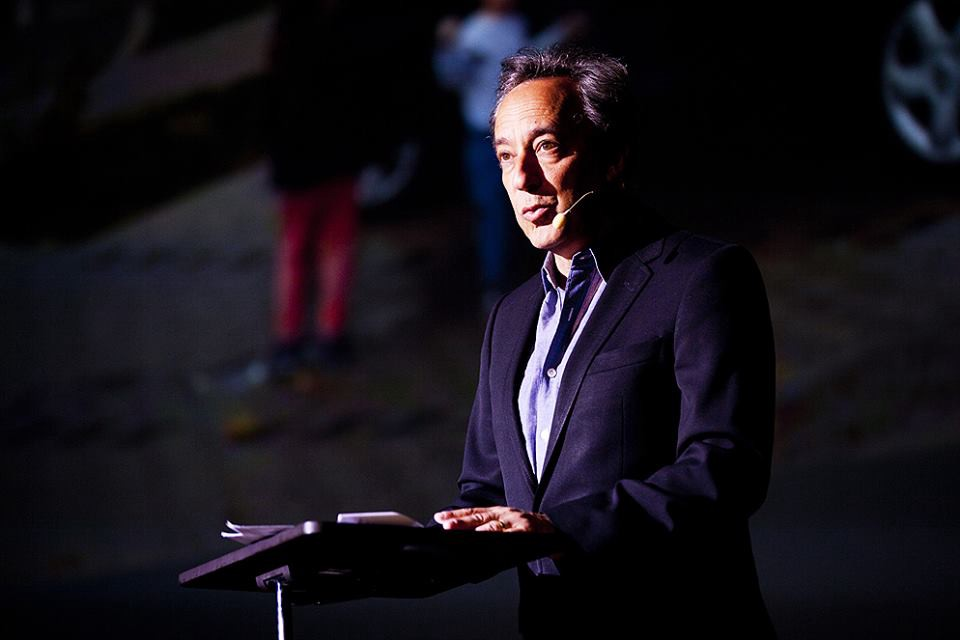The architecture critic of The New York Times, Michael Kimmelman gave a lecture at reSITE 2016.