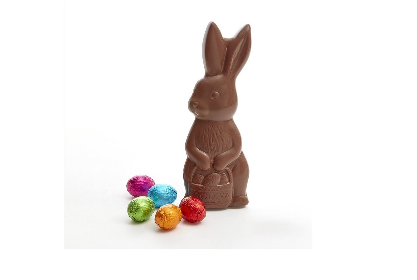 Cute easter gifts under 30 sarra medium the easter chocolate bunny is everyones favorite treat that no easter passes without this delicious milk chocolate bunny is well made and comes with 5 negle Gallery