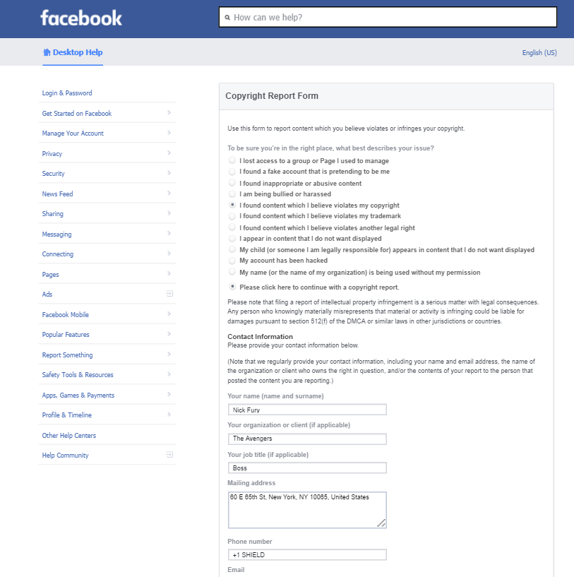 Facebook Can Shut Down Your Page Under Fake Claims And There Is ...