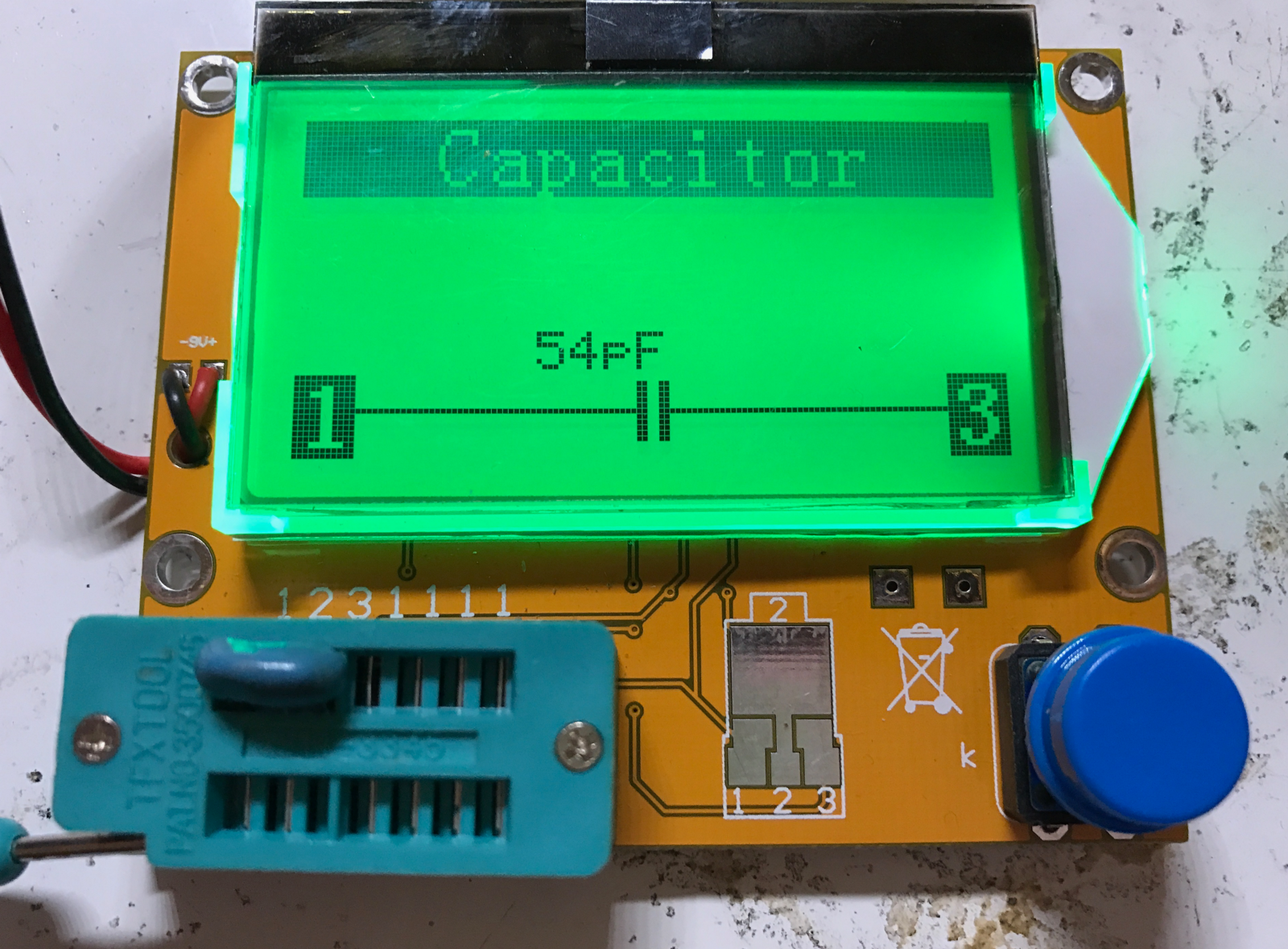 Crystal Oscillator Tester Frequency Counter Kit Review Generator Circuit Using Electronic Circuits Mtester Did Not Recognize Any Of The Quartz Crystals As Anything Only Showing Unknown Damaged Missing Part