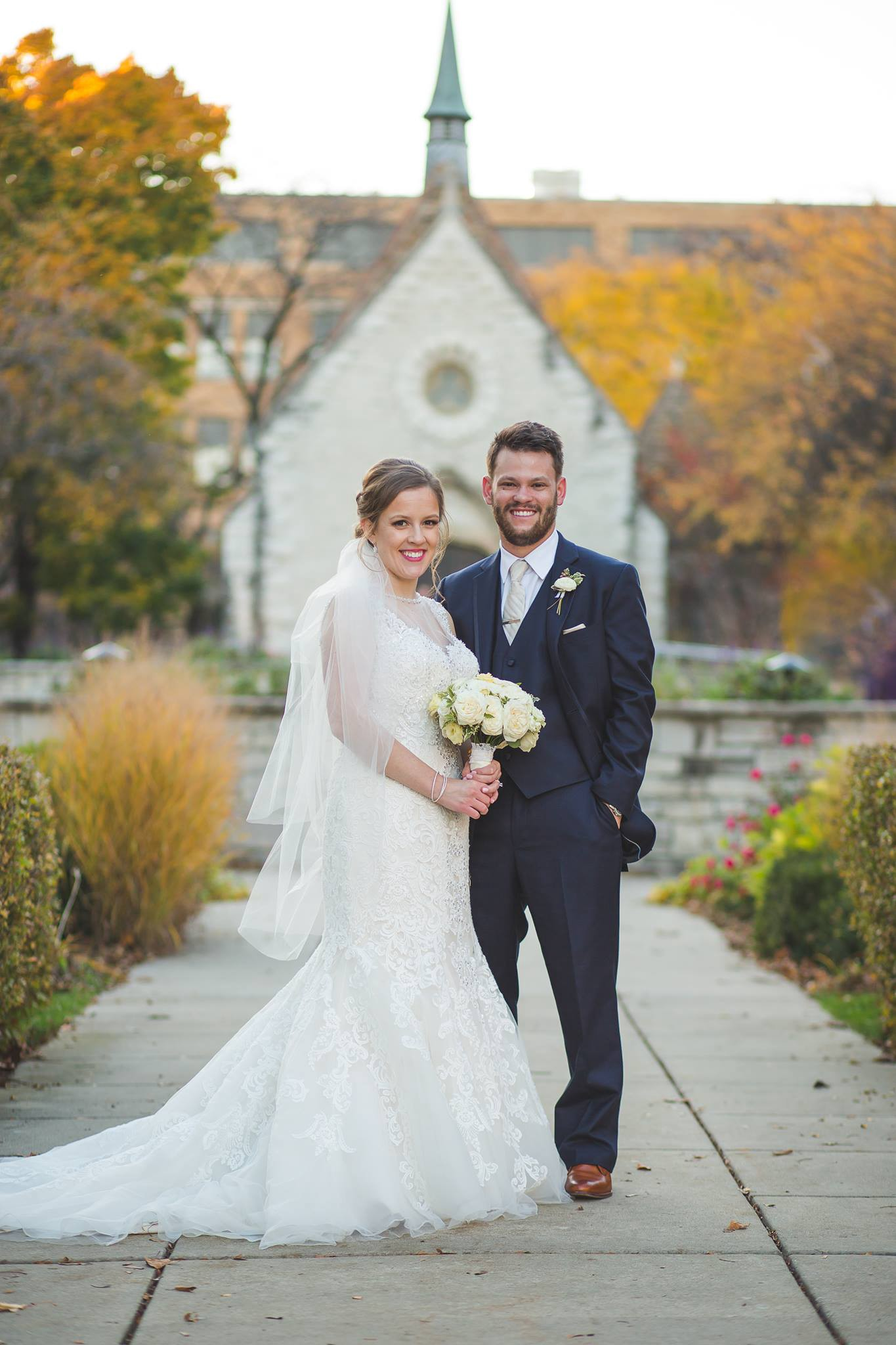 603ee97fb8 Jacob Schlindwein (Health Sciences '13, Dental '16) and I met our junior  year through my roommate. We were married on November 5, 2016 in Milwaukee  ...