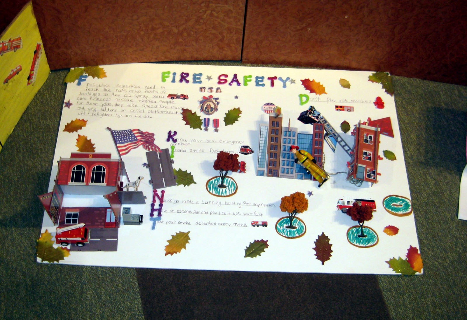 "safety first langhorne times an important message during national fire prevention week oct 8 14 council rock elementary students participated in the ""fire safety in the home"""