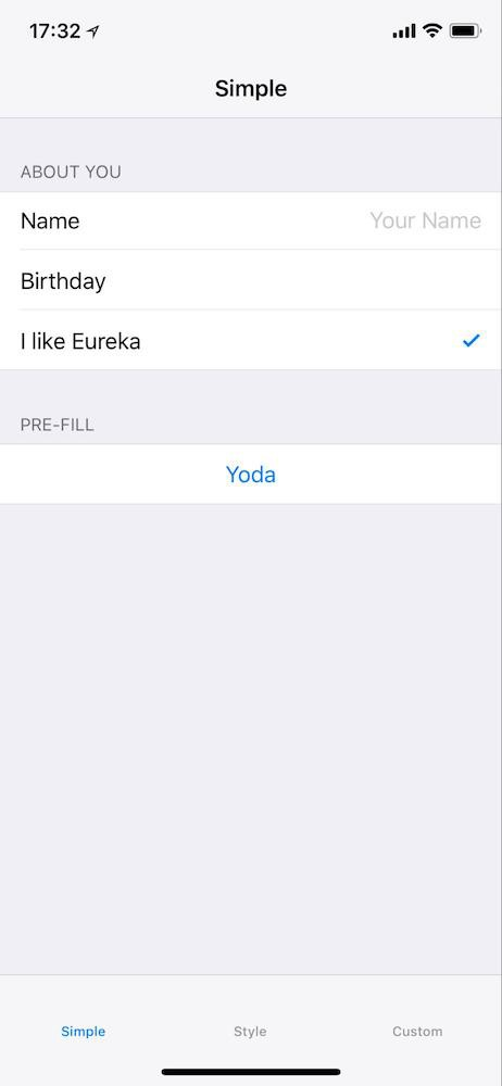 Creating Forms In Ios With Eureka  Inloopx  Medium