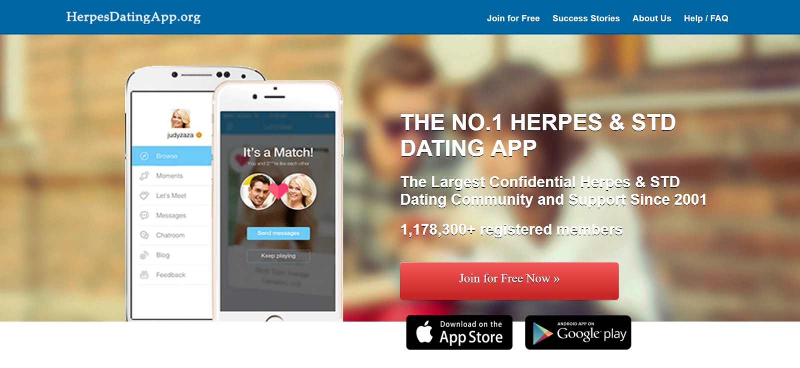HerpesDatingApp Is The Best herpes Dating App In The World