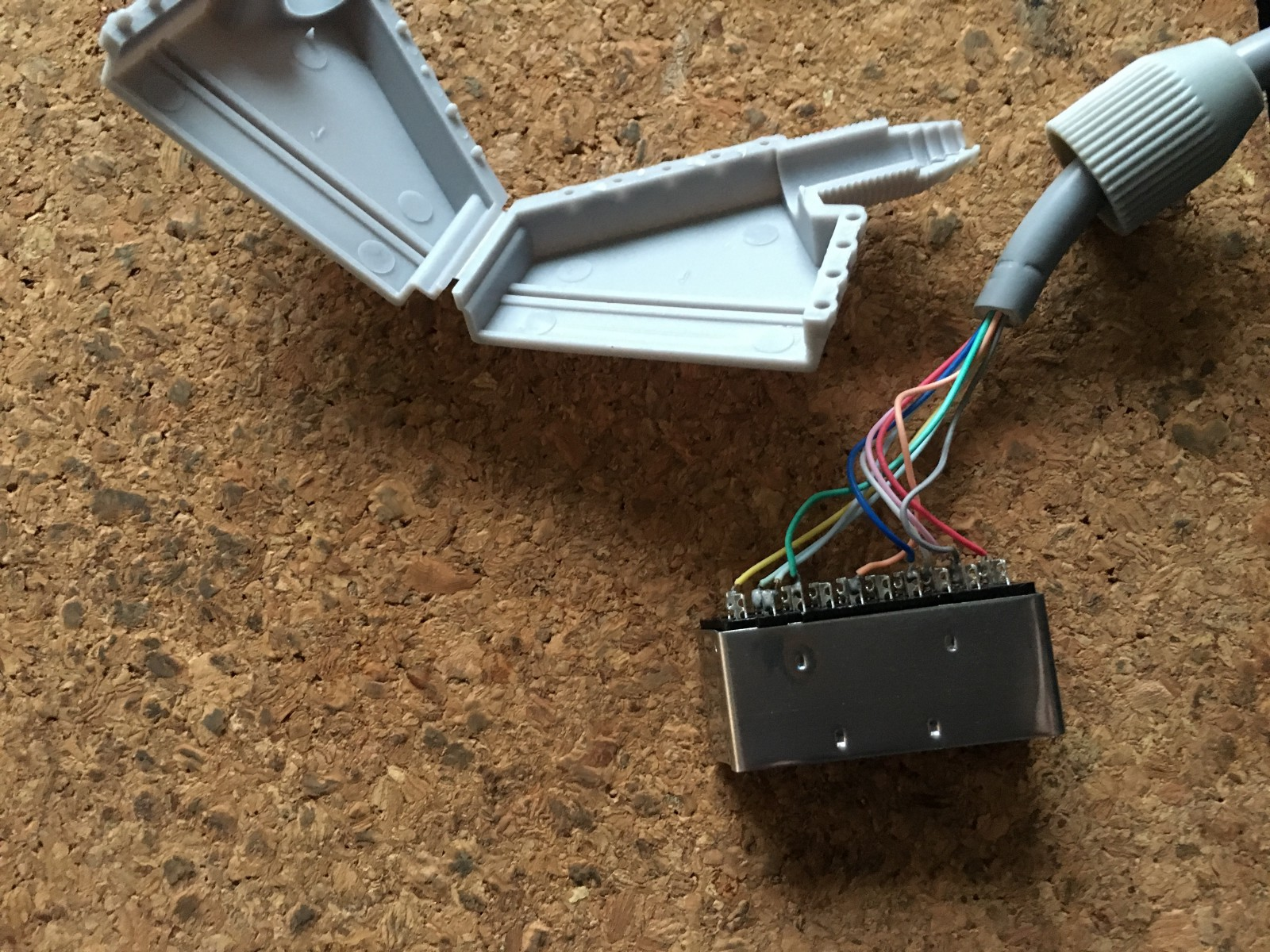 How To Fix A Misbuilt Third Party Wii Rgb Cable Pr Strindevall Wire Diagram Scart Guts