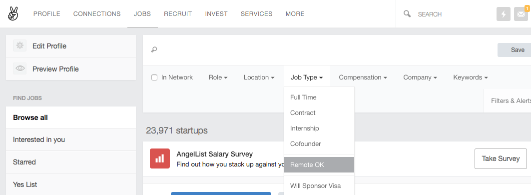 remote customer service jobs angellist