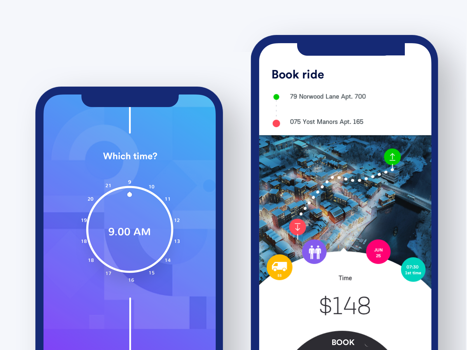 Move your home app Case Study – Muzli - Design Inspiration