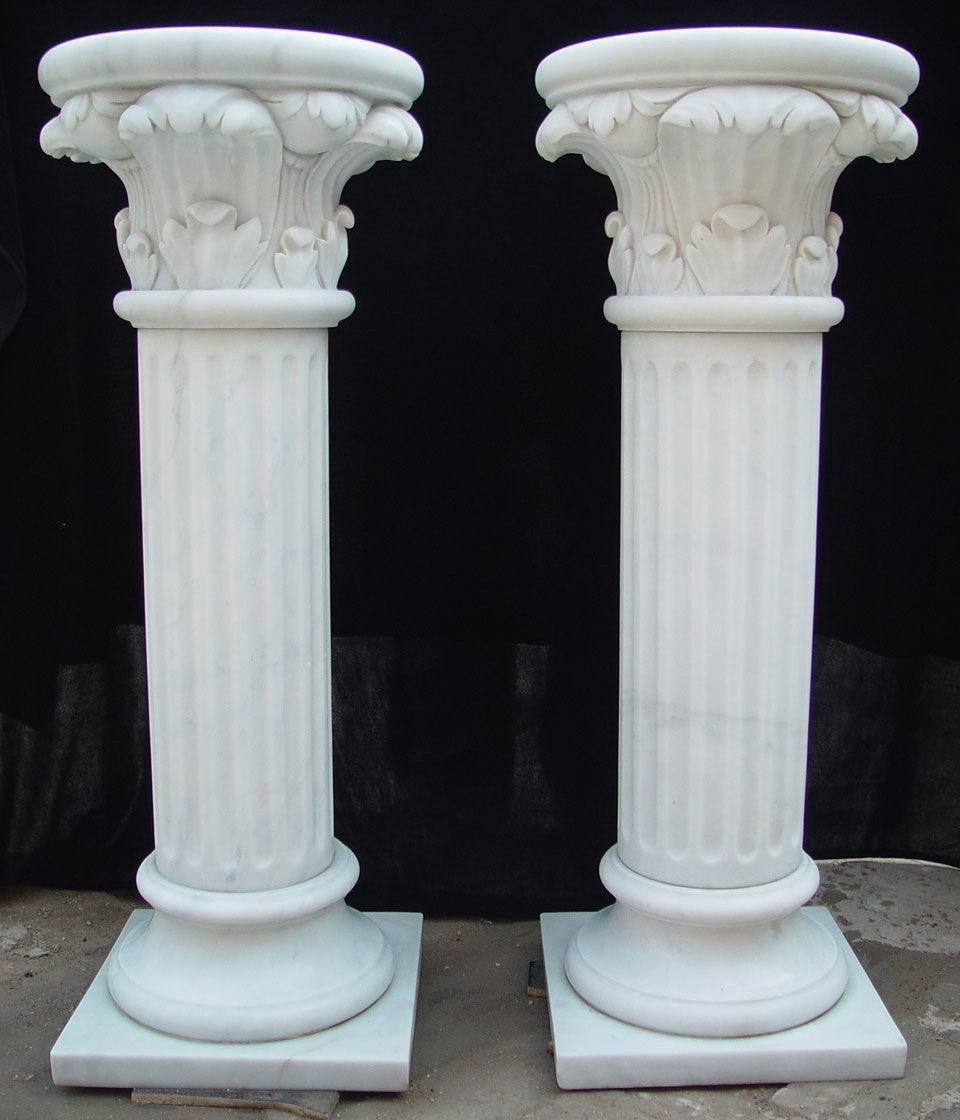 Are fashioned by the removal of stone in a pre determined way to achieve a specific design on stone walls stone pillars it looks very beautiful