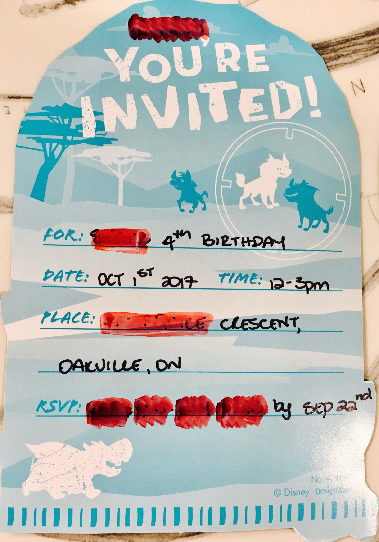I Was Very Excited To Receive This Invitation As We Are Relatively New School And Birthday Parties A Great Way Connect With Other Parents