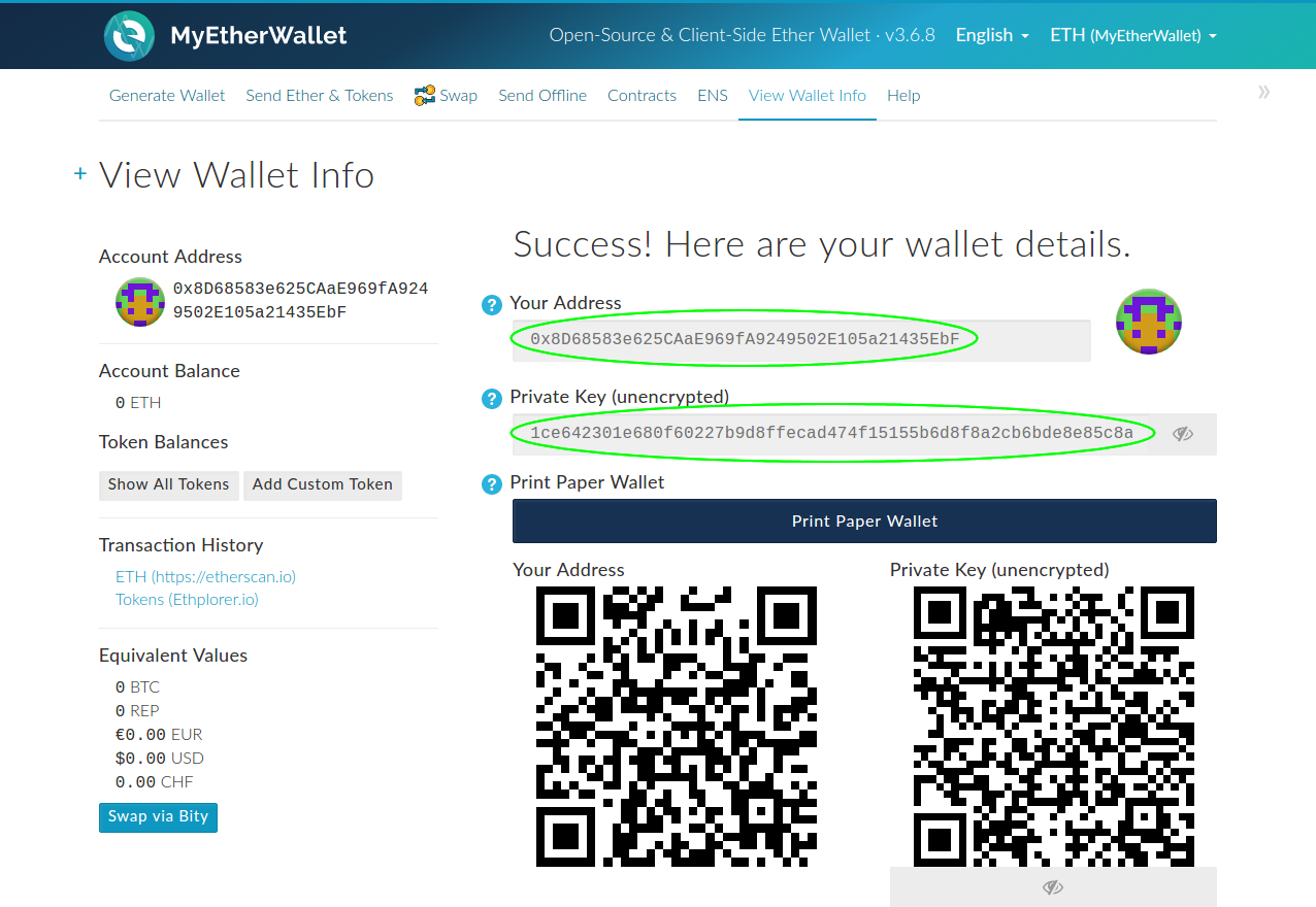 How To Send Bitcoin With A Private Key Ethereum How To Get Contract