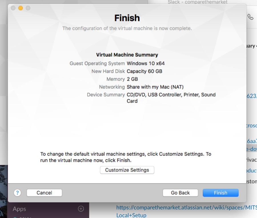 how to set up a virtual machine on your mac computer