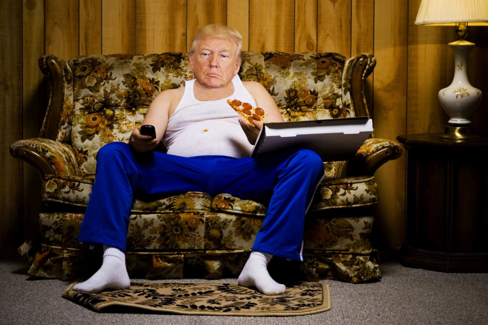 Confessions Of A Couch Potato President By Donald J Trump