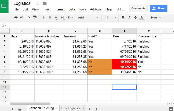 how to put writing into one cell on google sheets