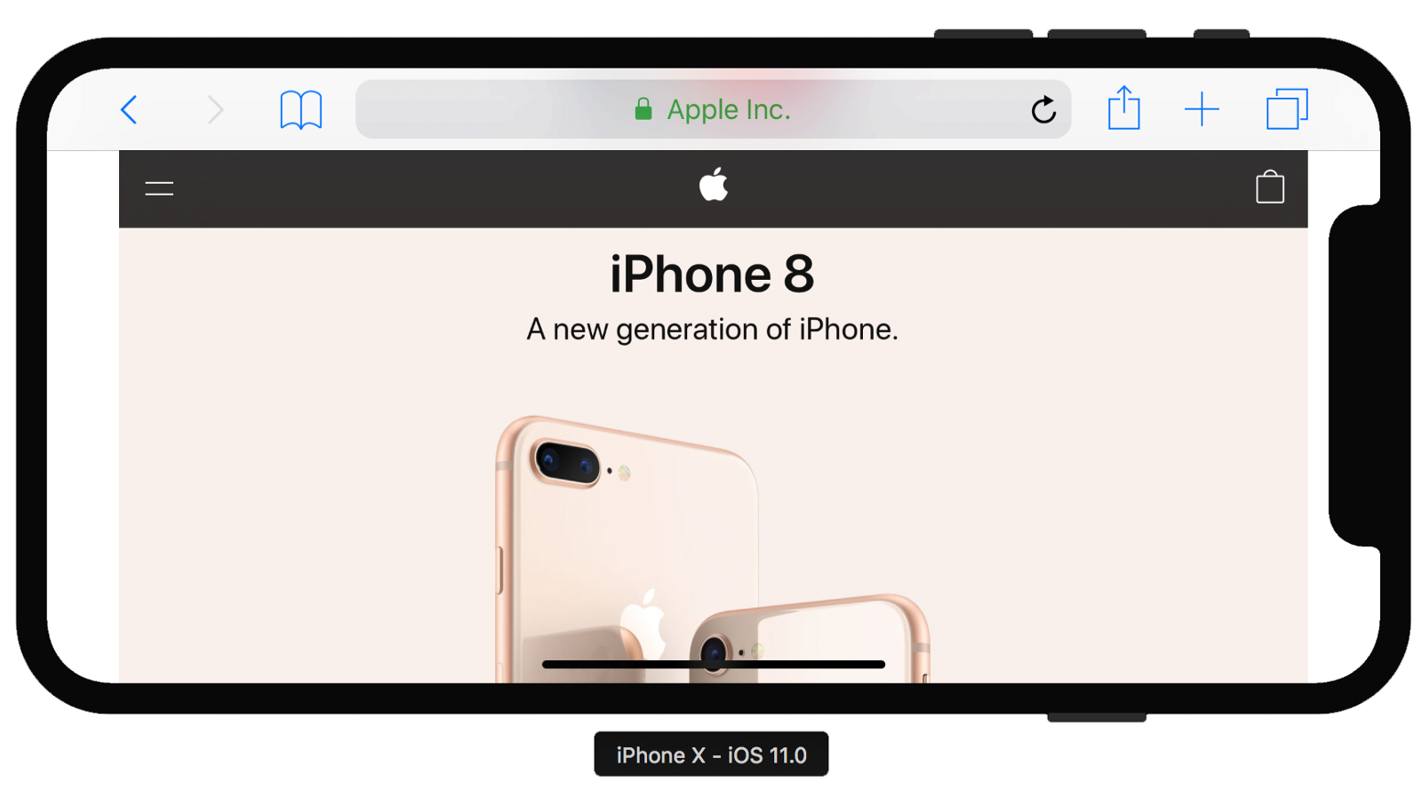 designing responsive webpages for the iphone x u2013 peach studio u2013 medium