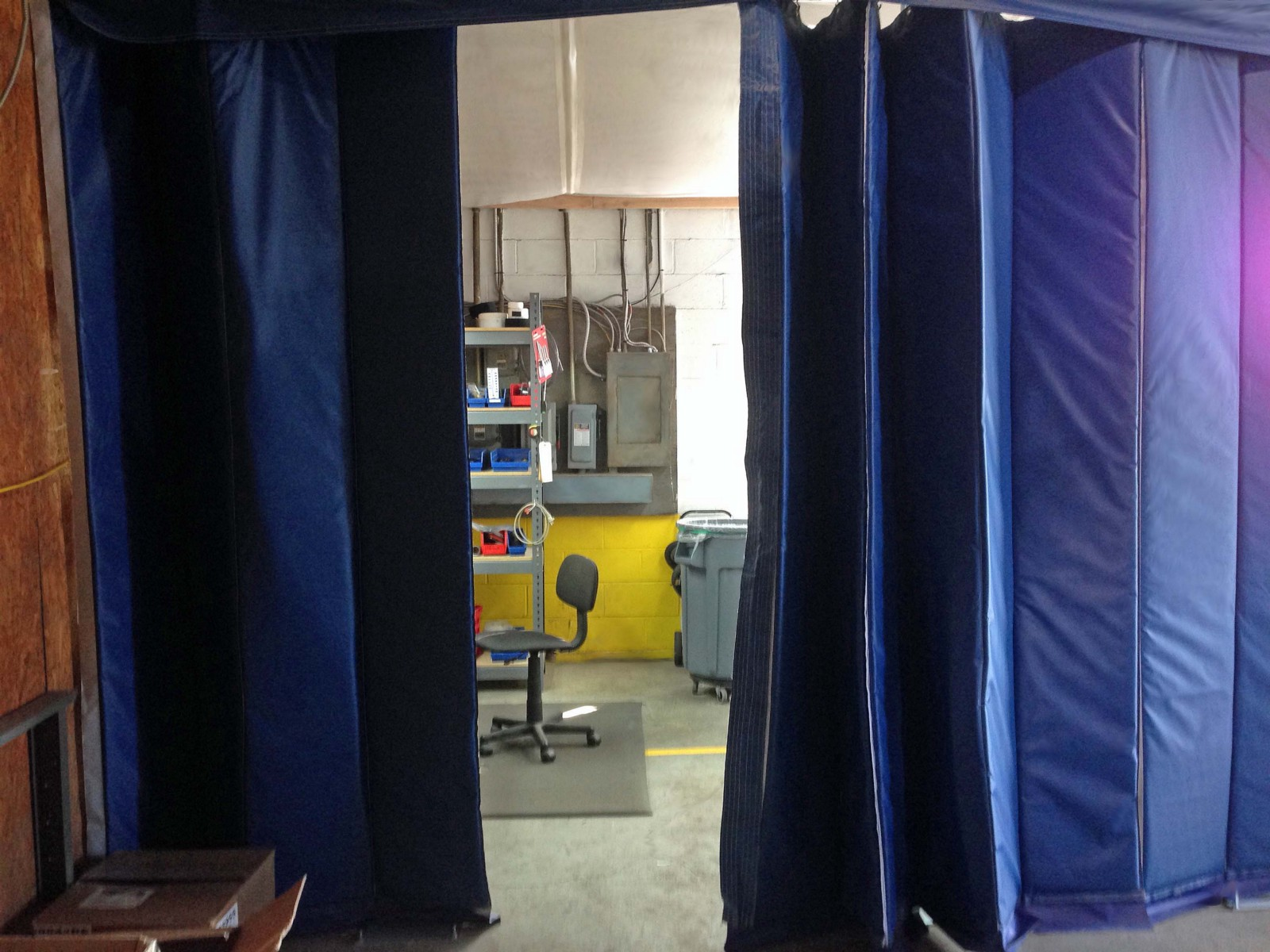 curtain available grinding dividers guard splatter of x workshop approx welding