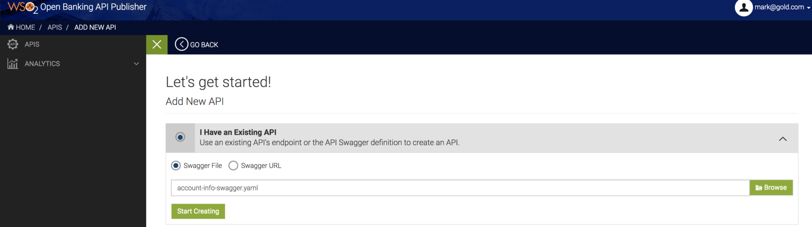 Generating REST API docs using swagger yamls for WSO2 Open