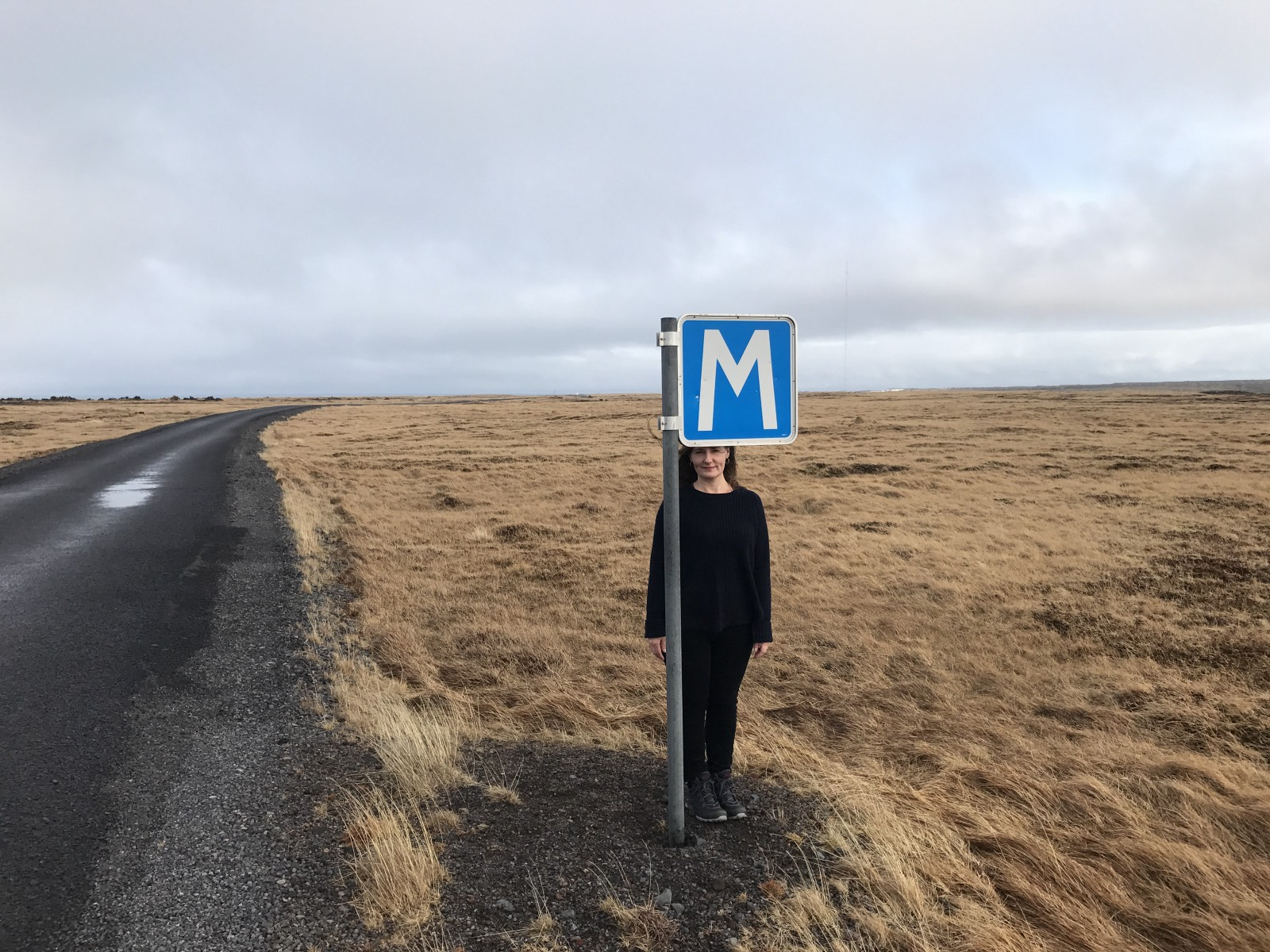 As An Introvert I Love Wide Open Spaceslike This Lonely Road In Iceland