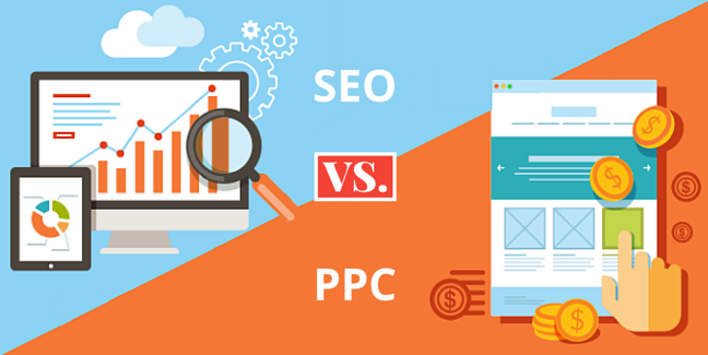 Image result for SEO Vs PPC