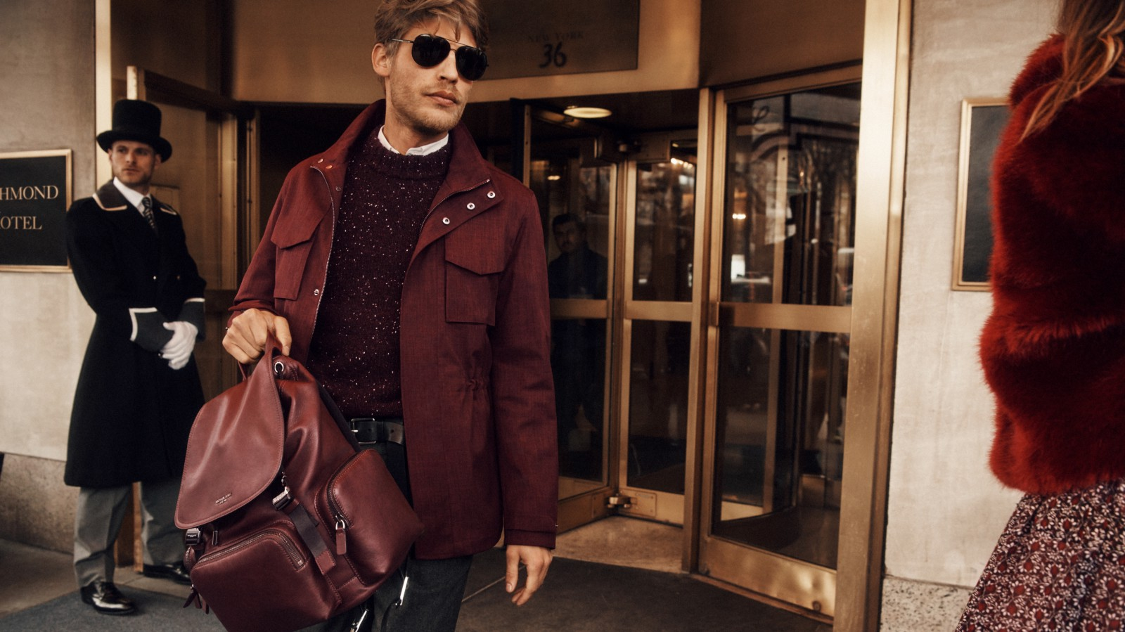 ba2f2eedd0a3 A NEW YORK STORY  MICHAEL KORS  NEW FALL 2018 MICHAEL MICHAEL KORS AND MENS  AD CAMPAIGN