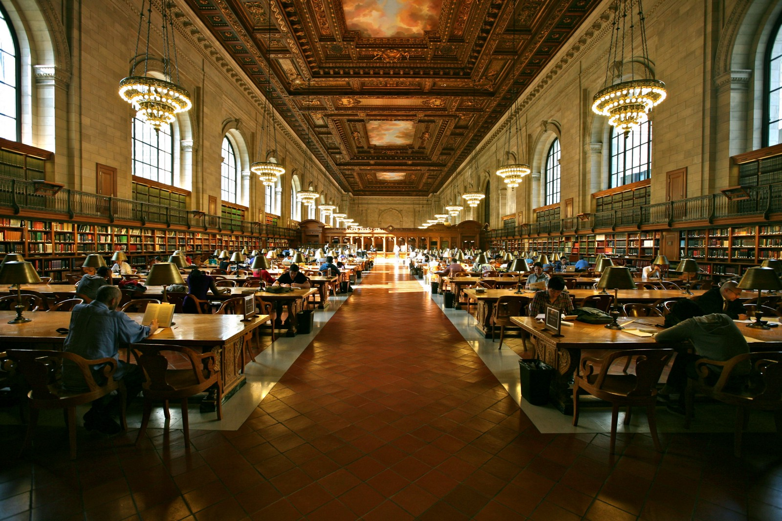 Alex Proimos — New York Public Library Grand Study Hall (CC BY 2.0)