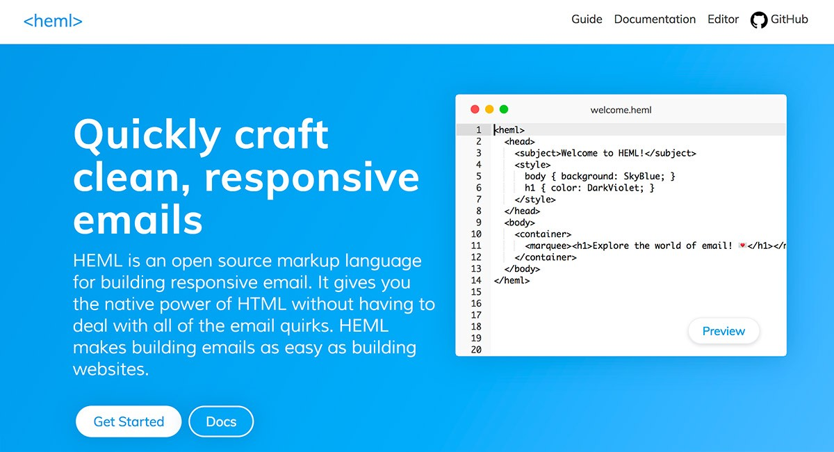 Best Responsive Html Email Template Builders For 2019