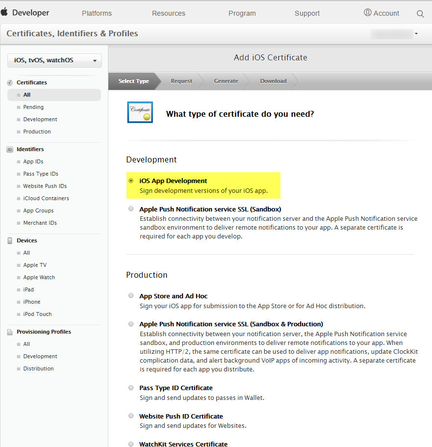 Apple Certificates For Push Notifications Ios Push Notifications