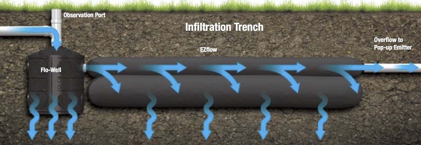How to eliminate stormwater runoff installing a home for Good drainage system