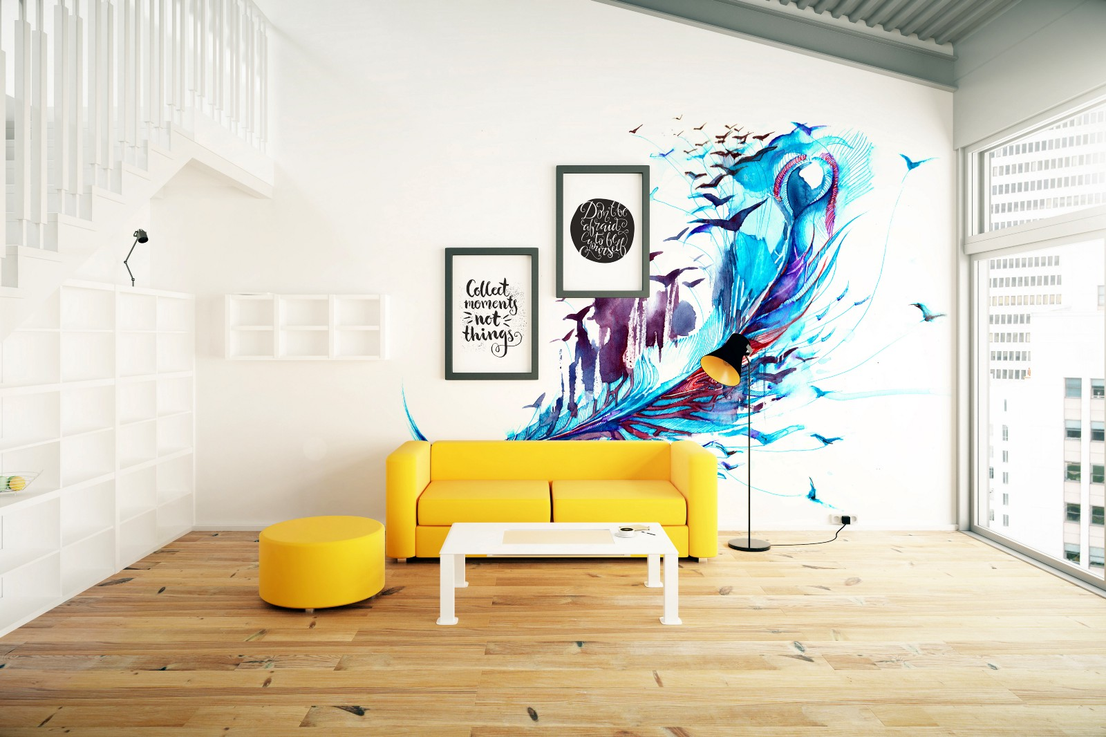 Incroyable A Wall Mural From PIXERS