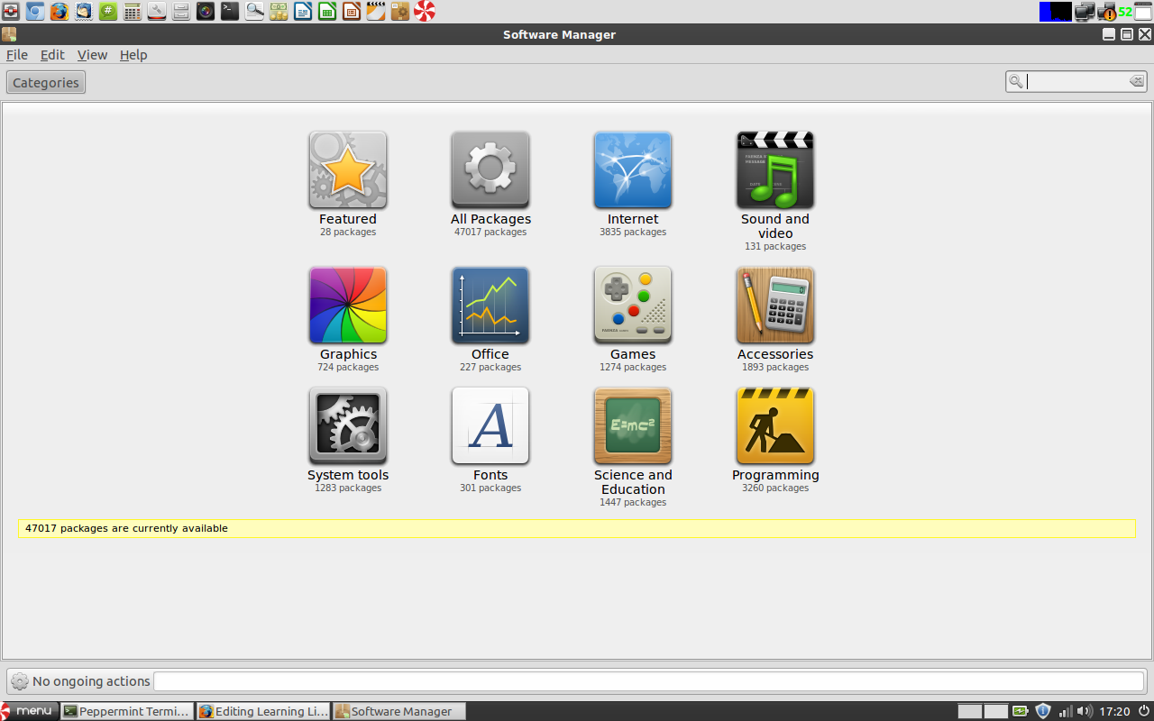 Learning linux on my own ashutosh medium software manager on peppermint6 baditri Image collections