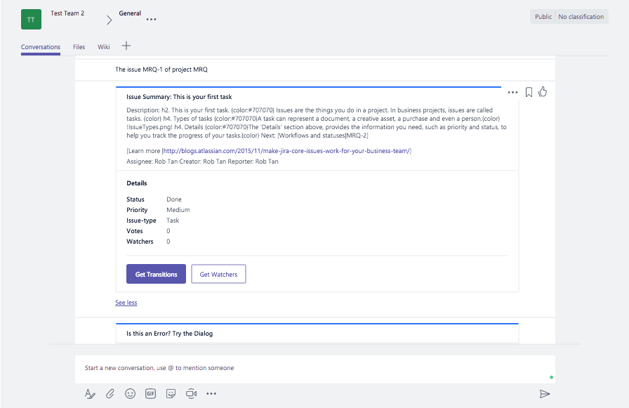 Advanced ChatOps with Microsoft Teams — Part 1 – YellowAnt