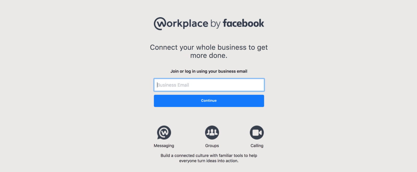 Continue with facebook sign up with email - Facebook Workplace Everyone With An Company Mail Can Join
