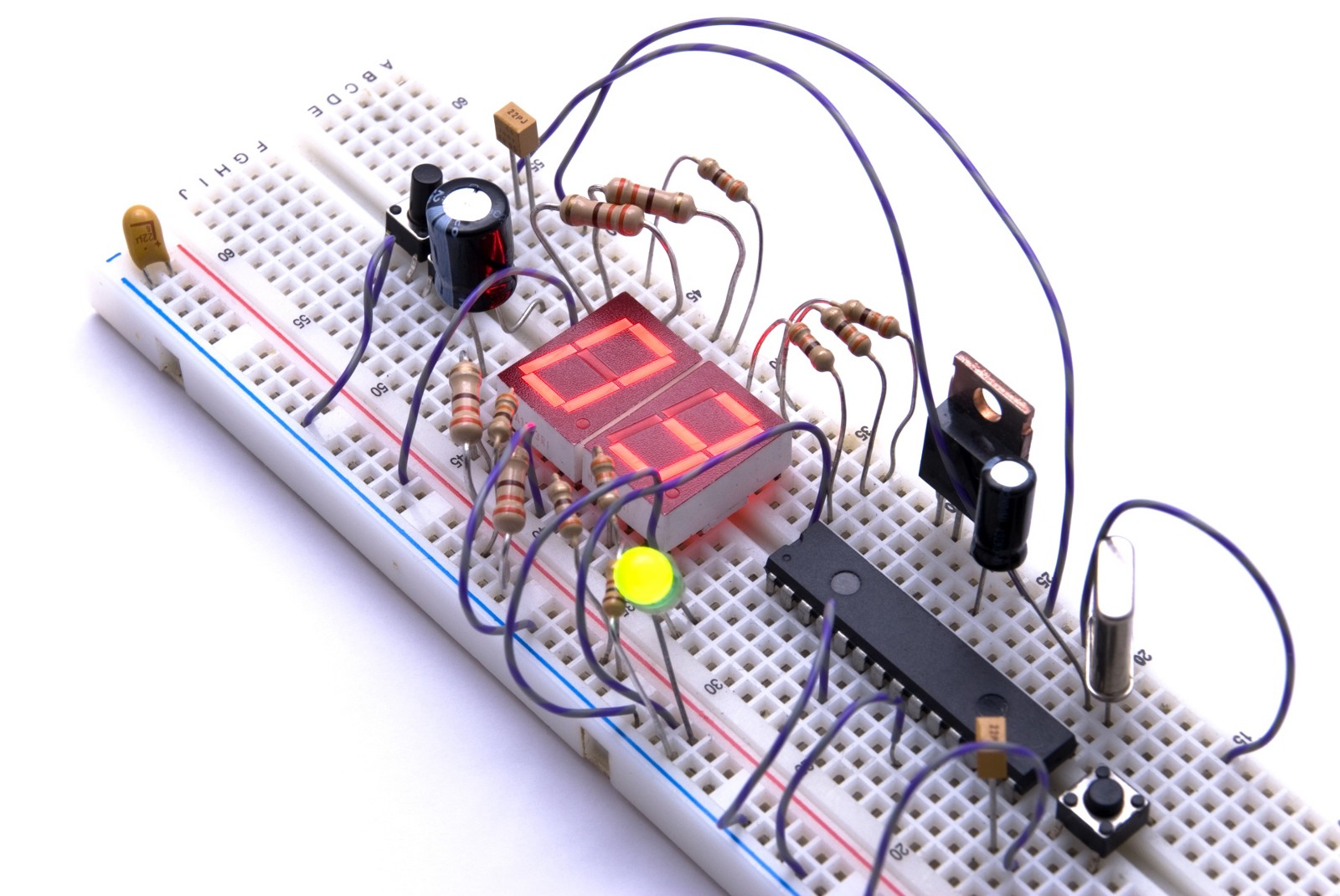 A Guide To Building Hardware Prototype London Tech Startups Medium Kickstarter Circuit Scribe Typical Breadboard Much Easier Than Soldering But Could Still Be Improved