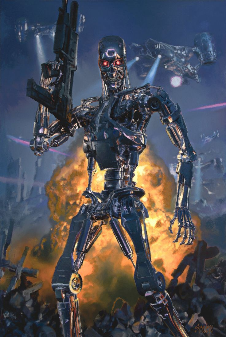 The Road to Killer AI: ML + Blockchain + IOT + Drones == Skynet?