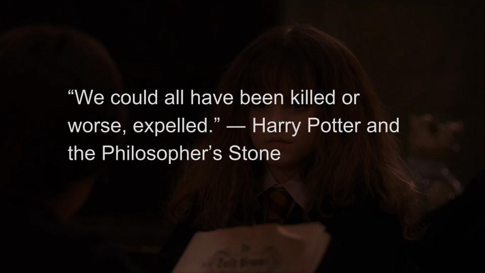 Harry Potter Quote About Friendship Interesting Top 10 Magical Quotes From Harry Potter  Liner  Medium