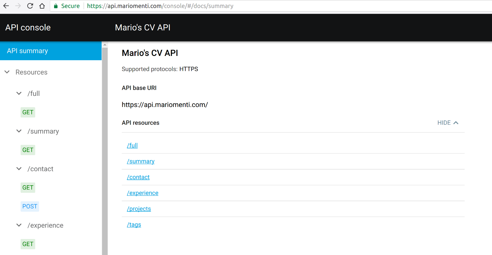 Everything Is An Api Including Me And My Cv Mario Menti Medium