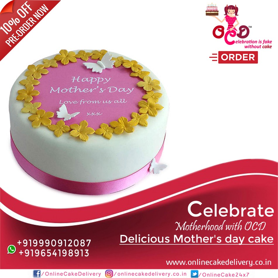 Send Online Mothers Day Cakes 2018
