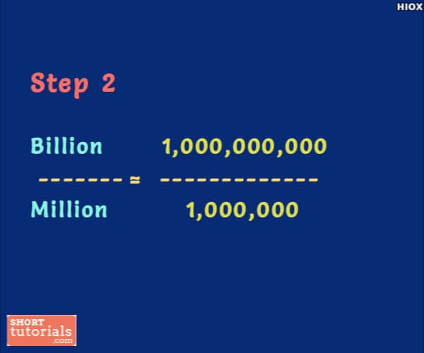 How To Convert Billion To Crore Below Are The Easy Steps For Converting Billion To Crore