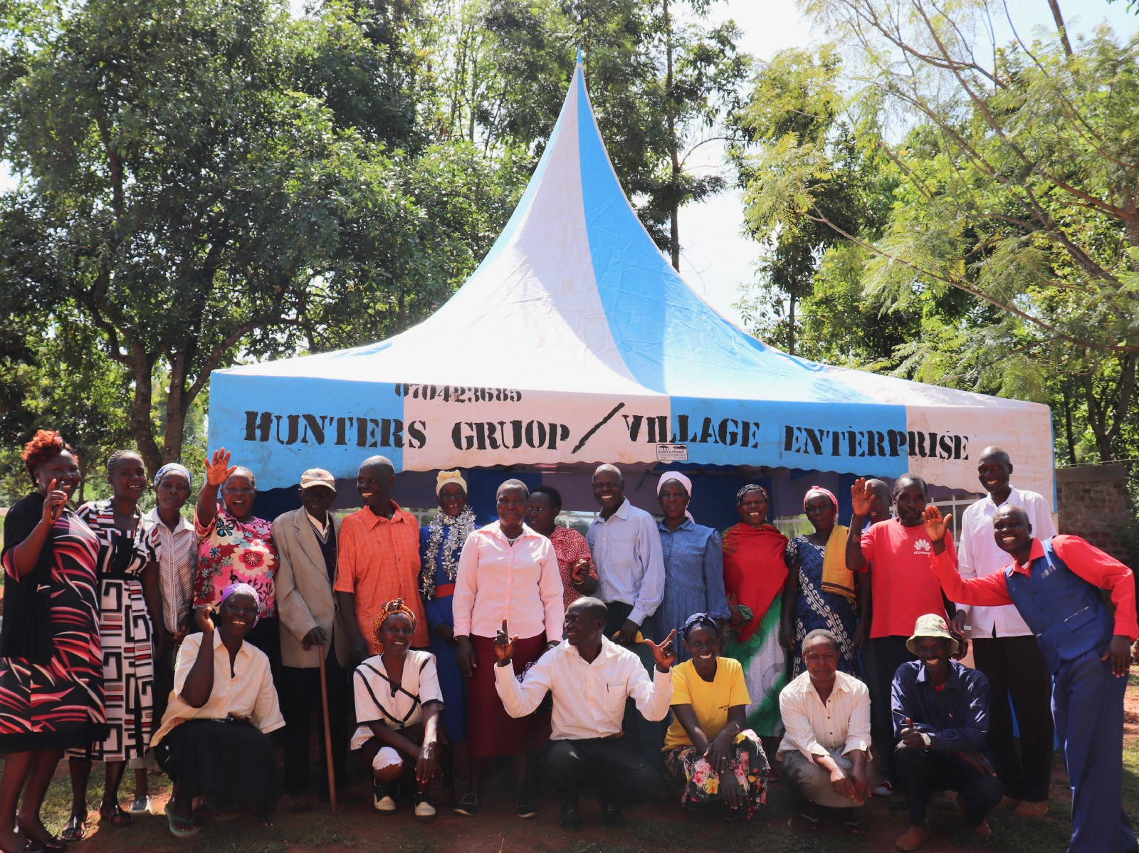 How A Party Tent Changed a Kenyan Village & How A Party Tent Changed a Kenyan Village u2013 Village Enterprise u2013 Medium