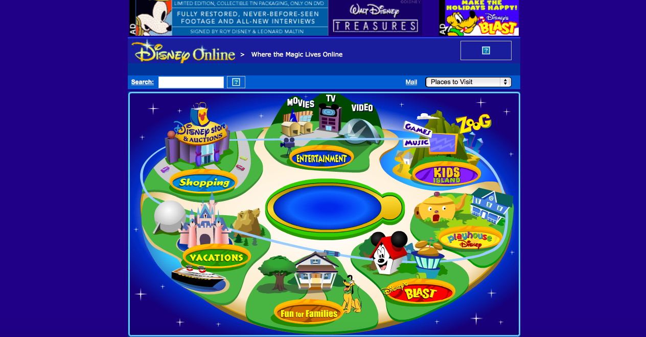Disney Does Web Right From The Start – Communication & New Media ...