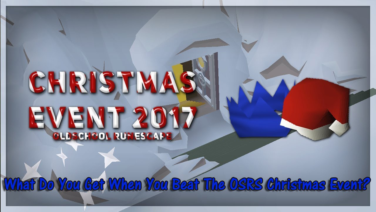 What Do You Get When You Beat The OSRS Christmas Event?